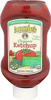 ANNIES NATURALS Organic Ketchup, 20 OZ