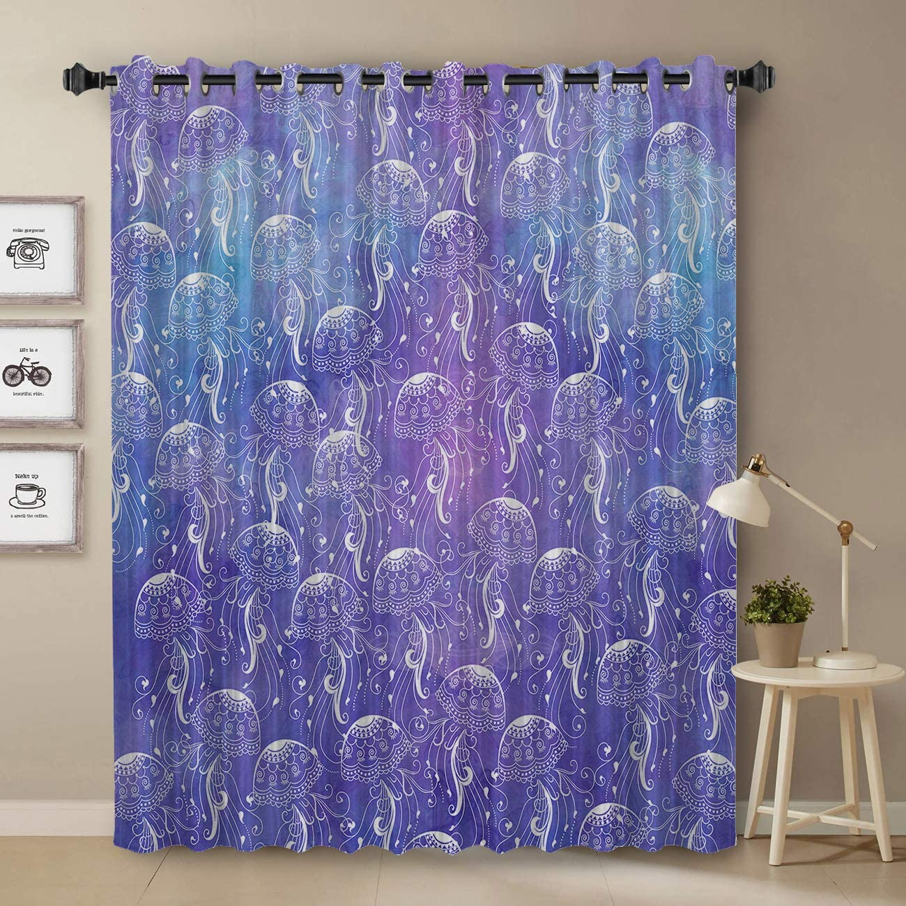 Darkening Blackout Curtain for Bedroom Quality inspection - Tre 45 Window inch Free shipping on posting reviews Long