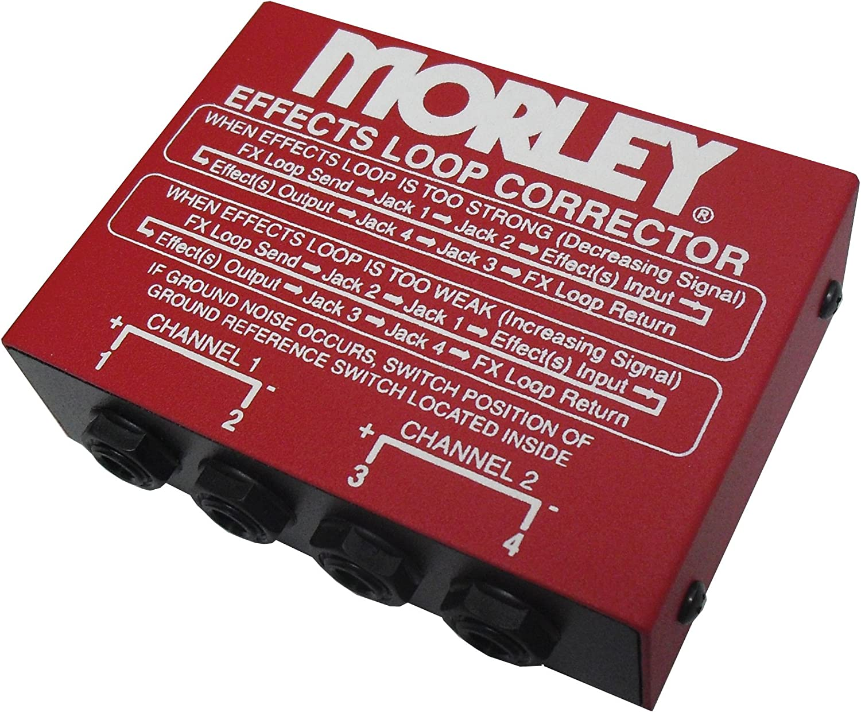 Morley Effects 超人気 Loop 送料無料激安祭 Pedal Corrector