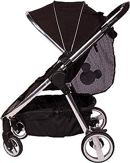 J.L. Childress Disney Baby Side Sling Stroller Cargo Net, Stroller Organizer & Storage, Mickey Black