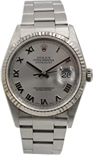 Rolex Datejust Automatic-self-Wind Male Watch 16234 (Certified Pre-Owned)