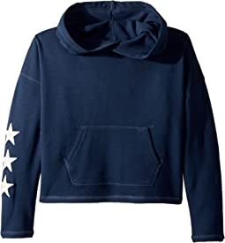 Drapey French Terry Hoodie (Little Kids/Big Kids)