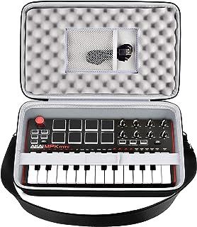 Case Compatible with AKAI Professional MPK Mini MK3/ MKII/Mini Play 25-Key Ultra-Portable USB MIDI Drum Pad. Keyboard Cont...