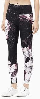 Calvin Klein Women's Floral Etch Print High Waist 7/8 Tight