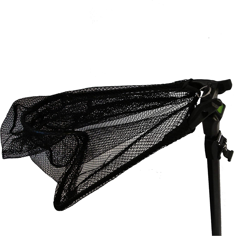 Amazon.com: Frabill Folding Net with Telescoping Handle (18 X 16-Inch),  Premium Landing Net, Black, One Size (3607): Sports & Outdoors