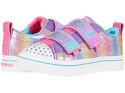 SKECHERS KIDS Twinkle Toes Twi-Lites 2.0 Sparkle Vibes 314545L (Little Kid/Big Kid) (Multi) Girl