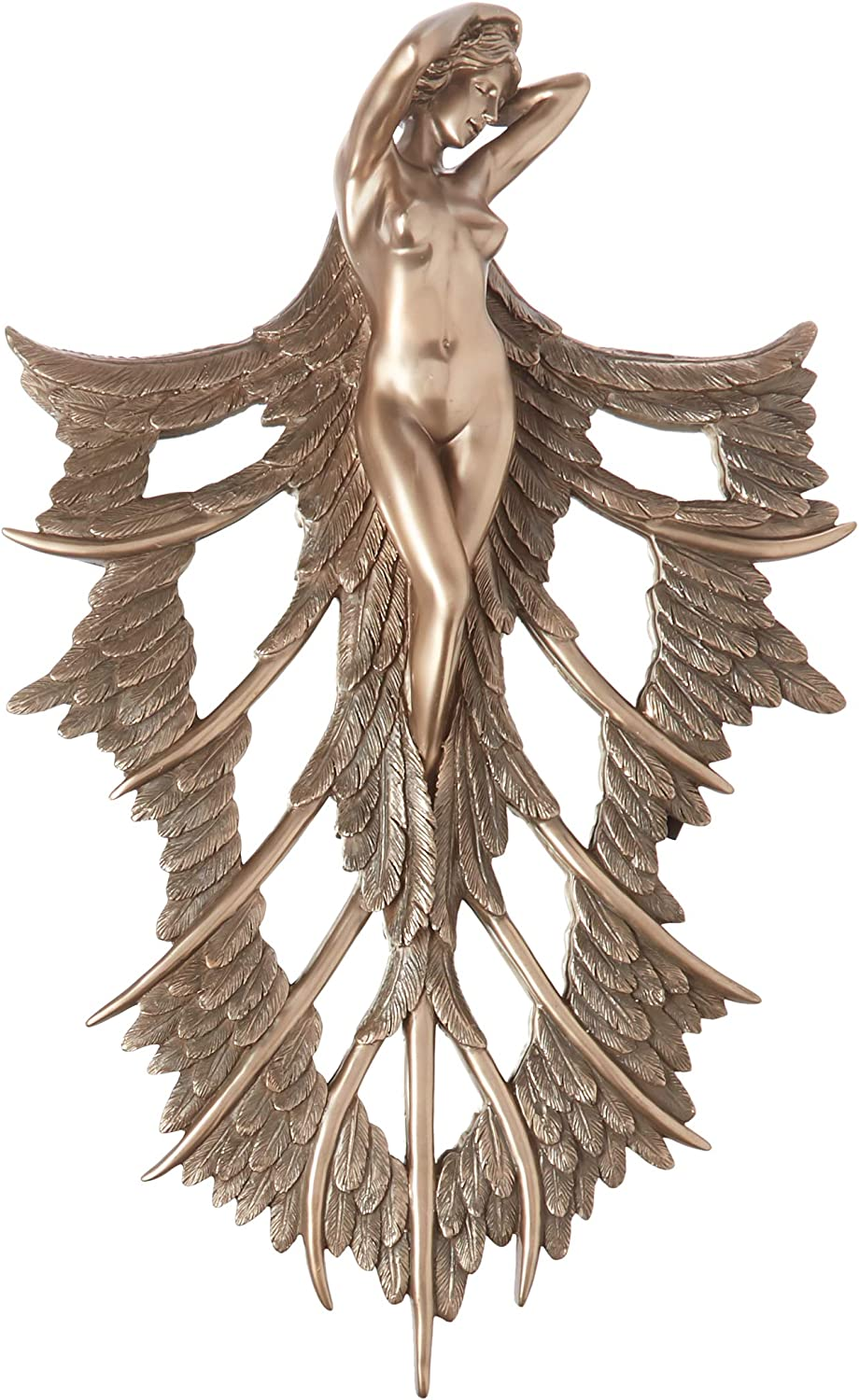 Design Toscano 70% OFF Outlet Angelic Wings Wall of Sculpture High material Nature