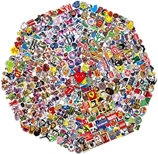 510 Pcs Random Sticker (60-1200 pcs/Pack). Variety Vinyl Car Sticker Motorcycle Bicycle Luggage Decal Graffiti Patches Skateboard Stickers for Laptop Stickers for Adult and kid