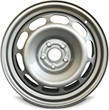 Road Ready Car Wheel For 2006-2012 Toyota Rav4 17 Inch 5 Lug Gray Steel Rim Fits R17 Tire - Exact OEM Replacement - Full-Size Spare