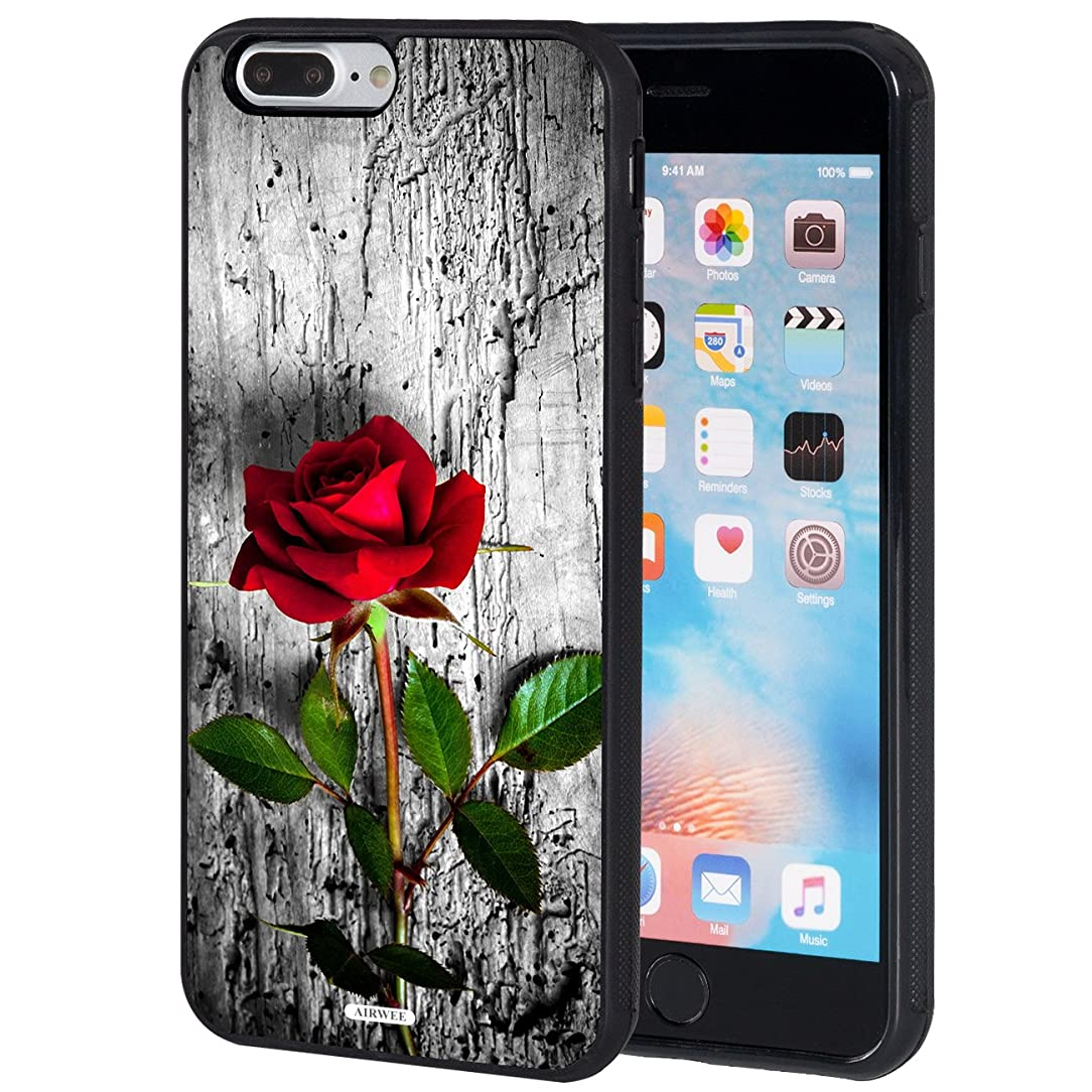 iPhone 7 Plus Case,iPhone 8 Plus Case,AIRWEE Slim Anti-Scratch Shockproof Silicone TPU Back Protective Cover Case for Apple iPhone 7 Plus/8 Plus 5.5