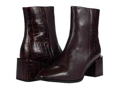 Seychelles Siesta (Burgundy Leather/Croco) Women