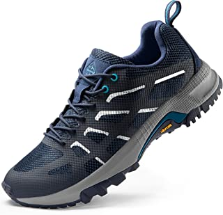 Men's Trail Running Shoes Lightweight Trainer Hiking Shoes Mesh Sneakers