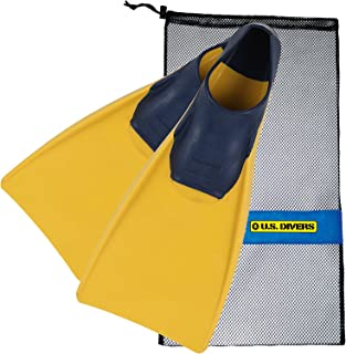 U.S. Divers Sea Lion Floating Fins, with Bag