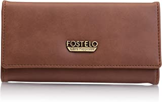Fostelo Tan Satin Women's Wallet (FC-55)