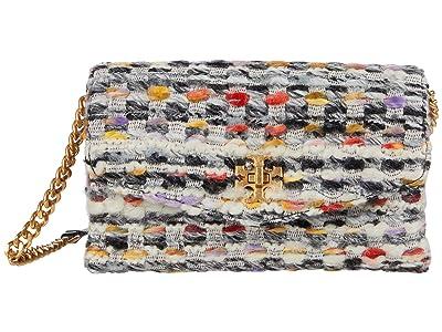 Tory Burch Kira Tweed Chain Wallet (Multi) Handbags
