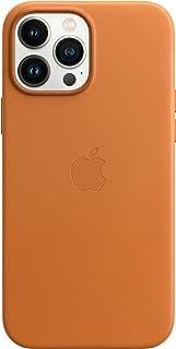 Apple Skórzane etui zMagSafe (do iPhone 13 Pro Max) - Złocisty brąz