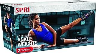 Spri Australia SPRI Adjustable Ankle Weight 5lb/2.27kg SPRI Adjustable Ankle Weight 5lb/2.27kg