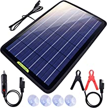 ECO-WORTHY 12 Volts 10 Watts Portable Power Solar Panel Backup Solar Trickle Charger for..
