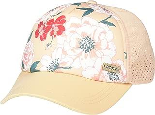 Roxy Women's Waves Machines HAT, Anthracite, Ivory Cream New