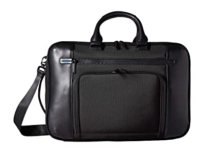 Zero Halliburton 17 PRF 3.0 Nylon Collection Large Three-Way Briefcase (Black) Briefcase Bags