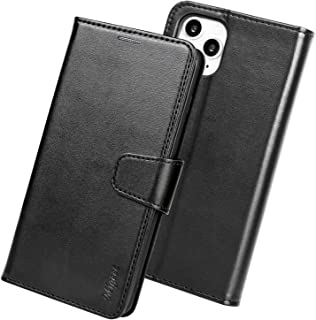 Migeec Compatible with iPhone 11 Pro Case Kickstand Feature PU Leather Wallet Case Flip Folio Cover with [Card Slots] and...