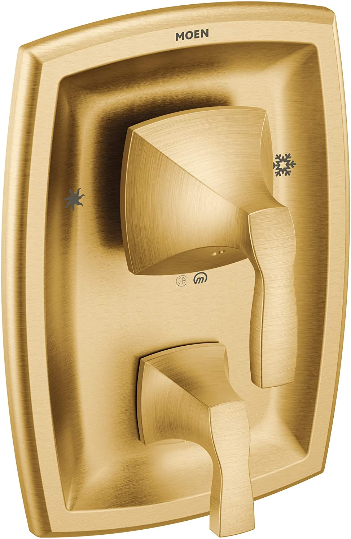 Moen T2690BG Voss Posi-Temp with Built-in 3-Function Transfer Valve Trim Kit Valve Required Brushed Gold