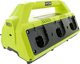 Ryobi P135 18V One+ 6 Port Lithium Ion Battery Supercharger (18V Batteries Not..