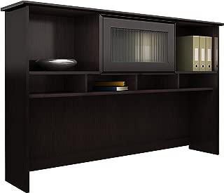 Bush Furniture Cabot 60W Hutch, Espresso Oak
