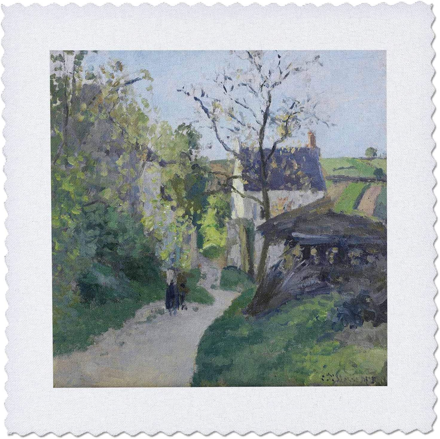 Mail order 3dRose USPD Image Beautiful Pissarro In Painting Walnut ...