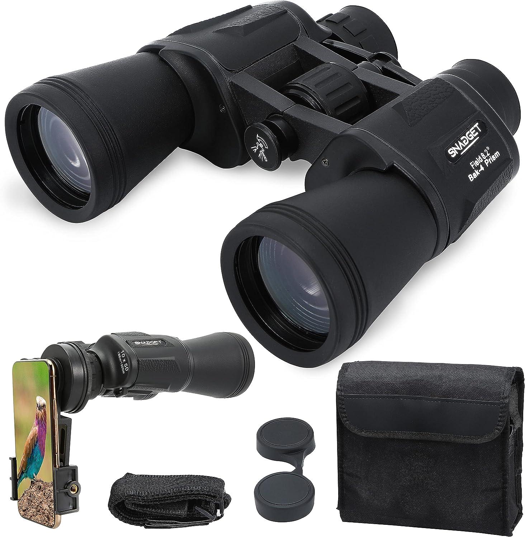 10x50 HD Binoculars for 2021 Attention brand model Waterproof Adult Binocular Professional