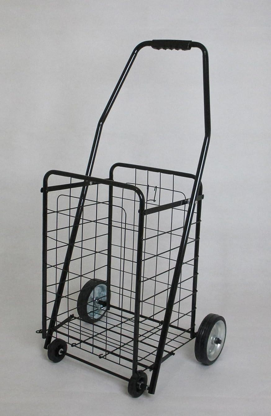 骨の折れる貯水池隙間ワイヤーカート ショッピングカート スチール製 ブラック lh-100