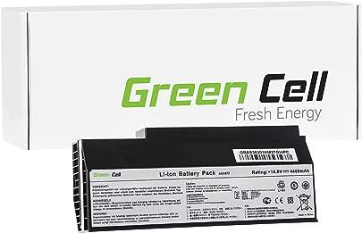 Green Cell  A42-G53 A42-G73 Laptop Akku f r Asus G53 G53J G53JW G53S G53SW G53SX G73 G73J G73JH G73JW  8 Zellen 4400mAh 14 8V Schwarz