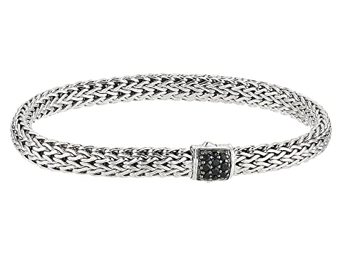 John Hardy Classic Chain 6.5mm Bracelet with Black Sapphire