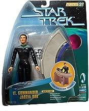Playmates Star Trek 6 Warp Factor Series 2 Lt. Commander Jadzia Dax with Deluxe U.S.S. Defiant Helm Console