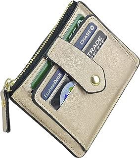 Minimalist Slim Snap Front Back Pocket Money Wallet Small Credit Card Holder