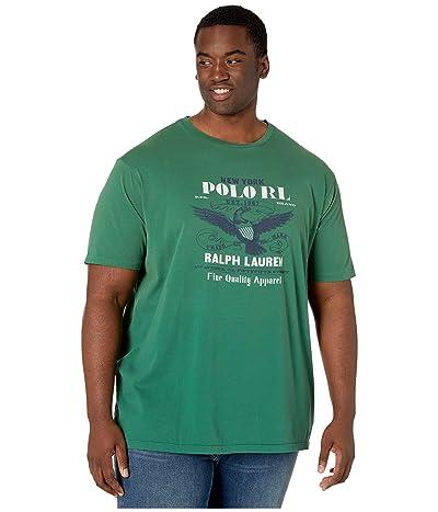 Polo Ralph Lauren Big & Tall Big Tall Classic Fit Graphic T-Shirt (Verano Green) Men