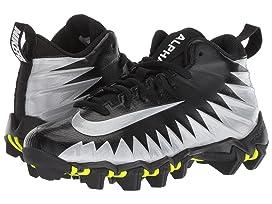 quite nice 596a2 34dfd Nike Kids Alpha Menace Shark Football (Toddler Little Kid Big Kid)