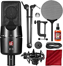 sE Electronics X1 S Vocal Pack Cardioid Condenser Microphone & Isolation Pack with 28