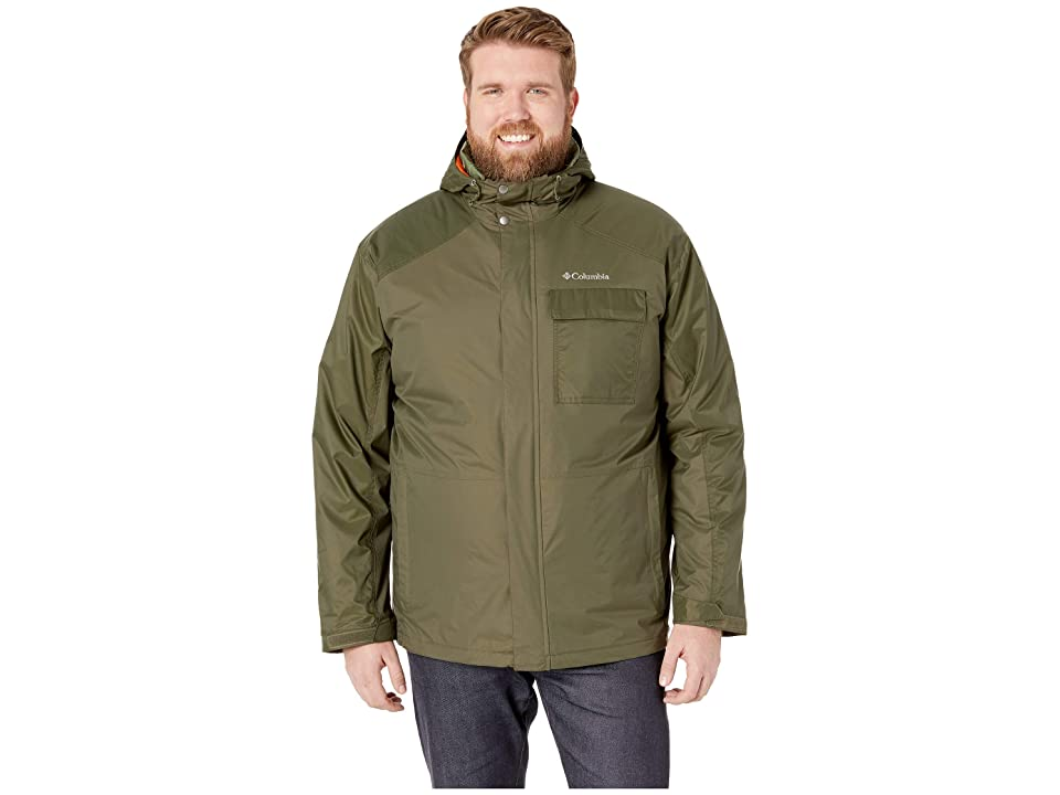 Columbia Big Tall Ten Fallstm Interchange Jacket (Peatmoss) Men