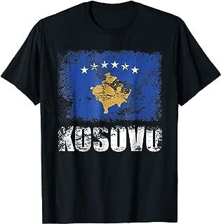Kosovo Kosovar Flag T-Shirt