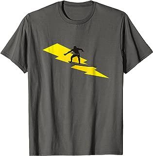 Lightning Bolt Surf Shirt for Men, Women, Boys and Girls