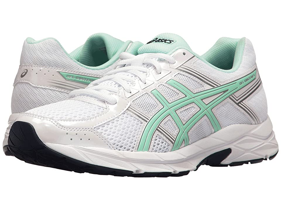 ASICS GEL-Contend 4 (White/Bay/Silver) Women