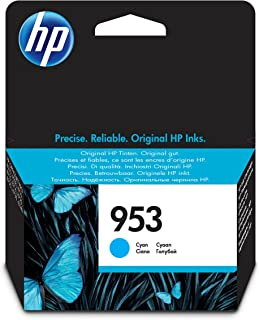 HP 953 Cyan Original Ink Advantage Cartridge - F6U12AE