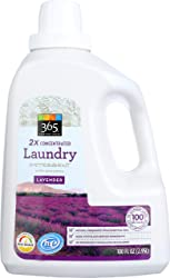 365 Everyday Value, Laundry Detergent with Enzymes 2X Concentrated , Lavender, 100 fl oz