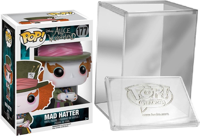 Funko Pop  Disney Alice In Wonderland Mad Hatter Figure + FUNKO PredECTIVE CASE