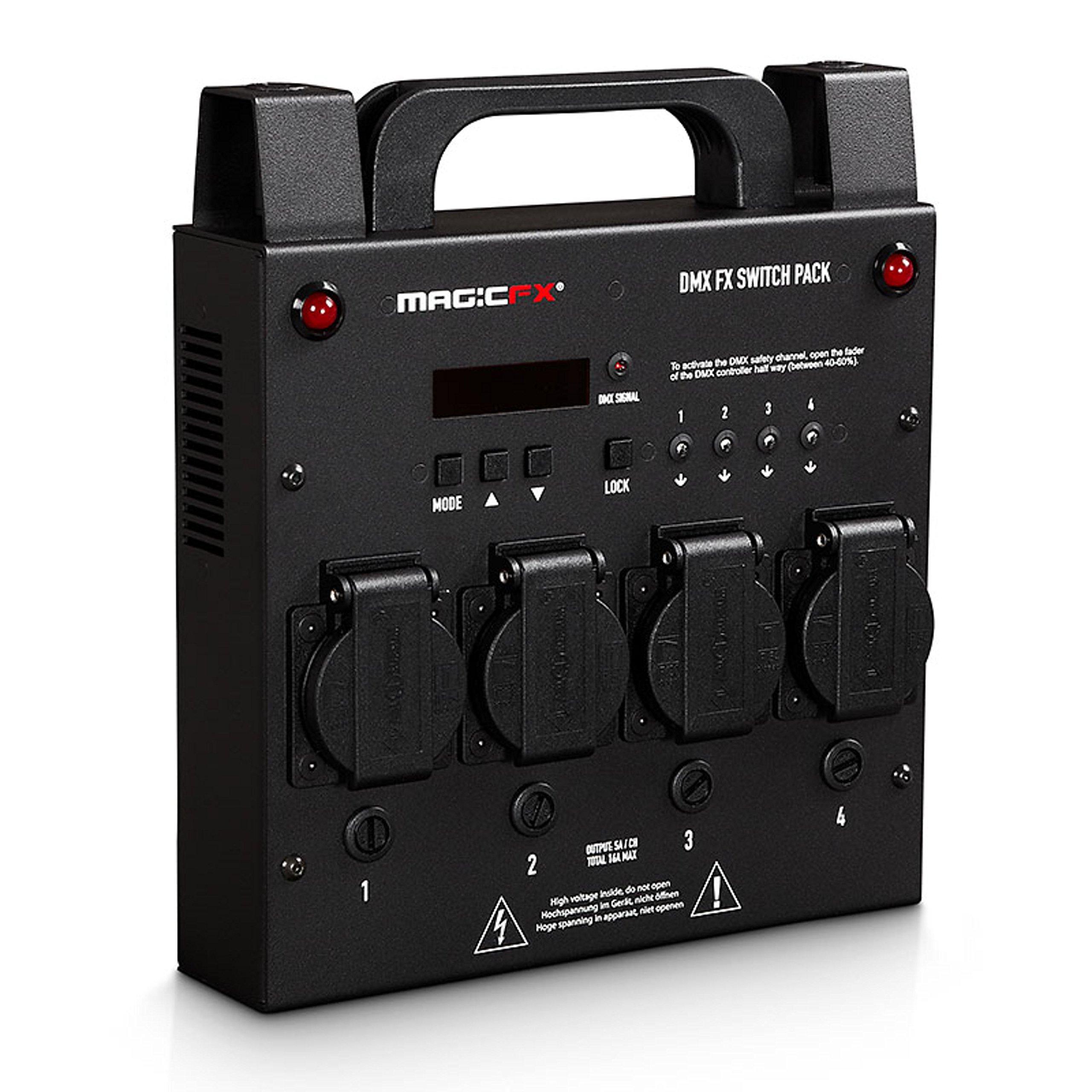 DMX FX Switch Pack 4 Kanal: Amazon.es: Electrónica