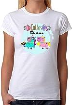 Camiseta Orgullos@s Todo el año. Camiseta Dia del Orgullo Gay LGTB. Pride Madrid Chueca. Camiseta Entallada para Celebrar el día.
