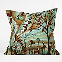 (41cm by 41cm ) - DENY Designs Madart Venturing Out Throw Pillow