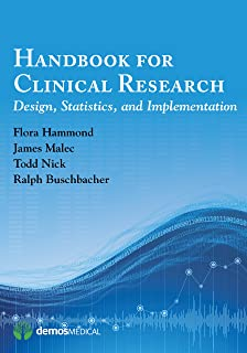 Handbook for Clinical Research: Design, Statistics, and Implementation