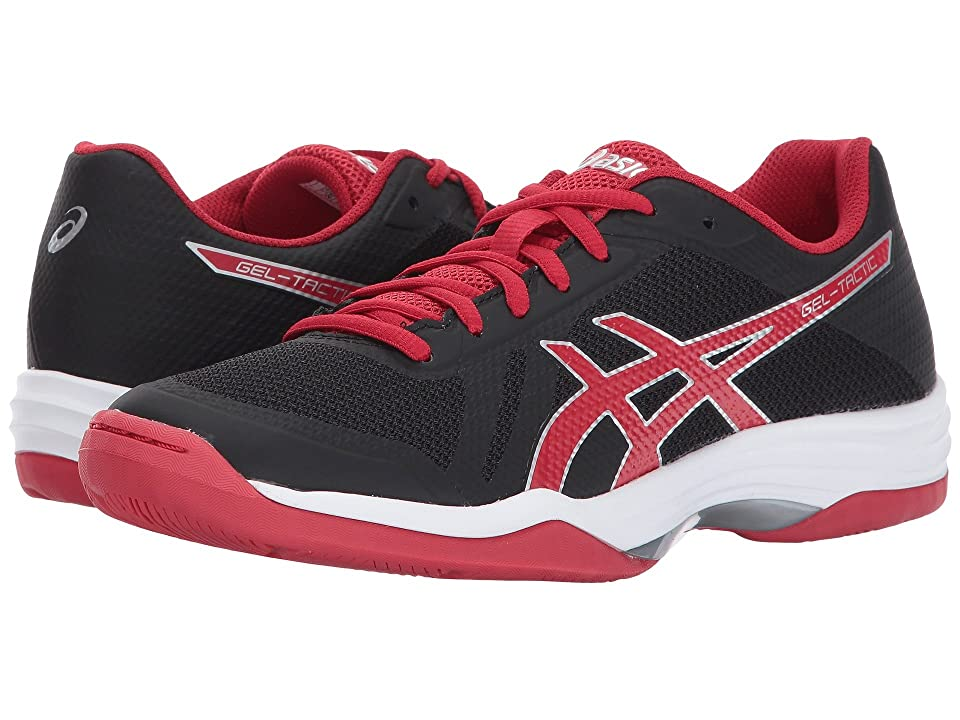 ASICS Gel-Tactic 2 (Black/Prime Red/Silver) Women